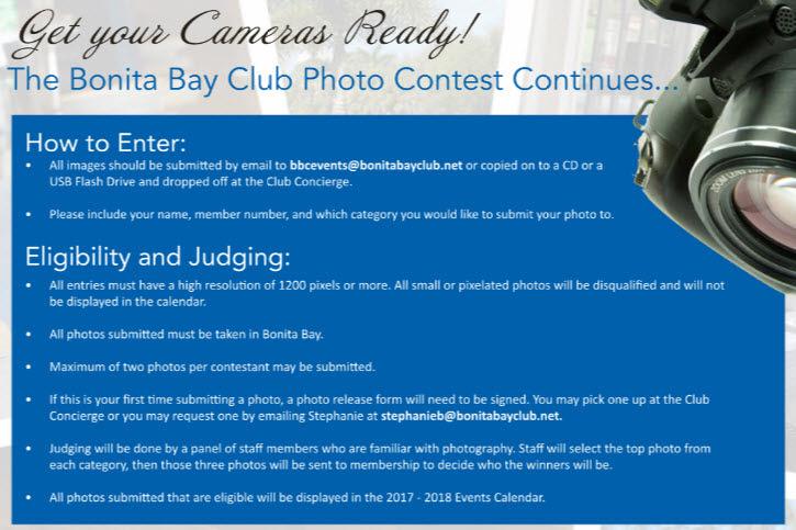 Bonita Bay Club Photo Contest